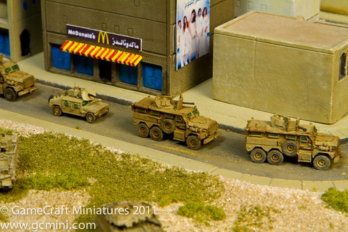 New GHQ vehicles on my Middle East town boards