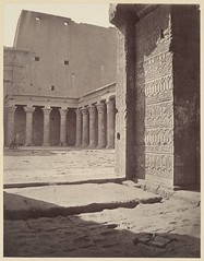Great temple of Edfu, Upper Egypt, by Adolphe Braun