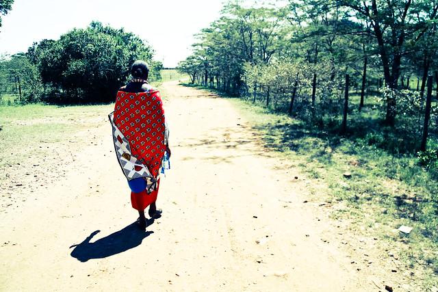 Agnes - A Masaai Woman