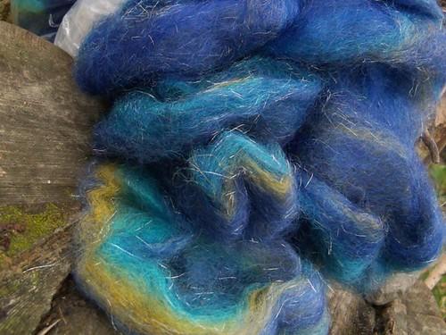 blue mohairwool