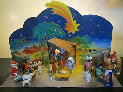 Santa & the Nativity