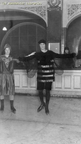 Fancy Dress Skating, 1930