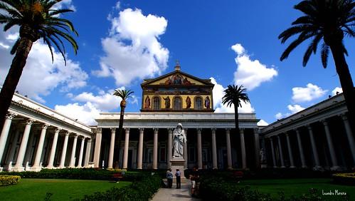 Basílica de San Paolo fuori le Mura: a mais bonita de Roma