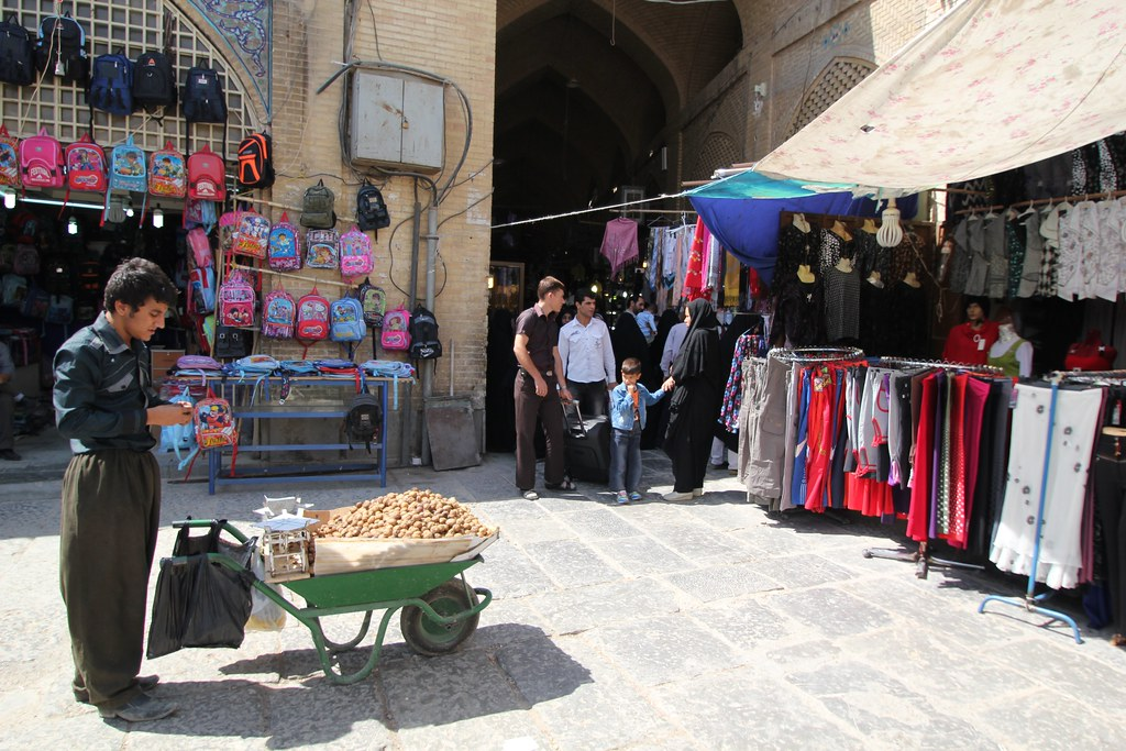 The Grand Bazaar of Isfahan