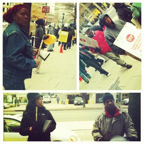 121: carpenters still on strike during Occupy Kstreet.
