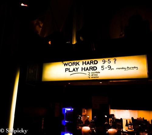 Work Hard Play Hard…