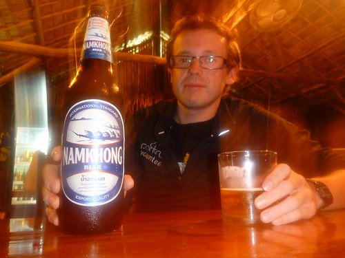 Namkhong - the other beer from Laos