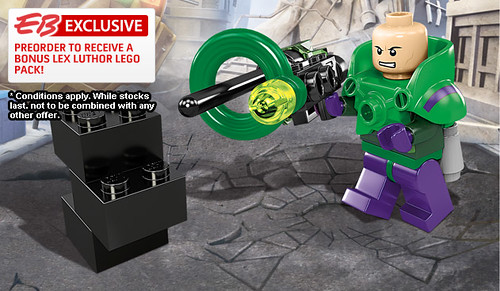 Exclusive Lex Luthor Minifigure