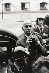 Henri Cartier-Bresson, Place de l'Odeon, Paris Riots, 1968, by Goksin Sipahioglu