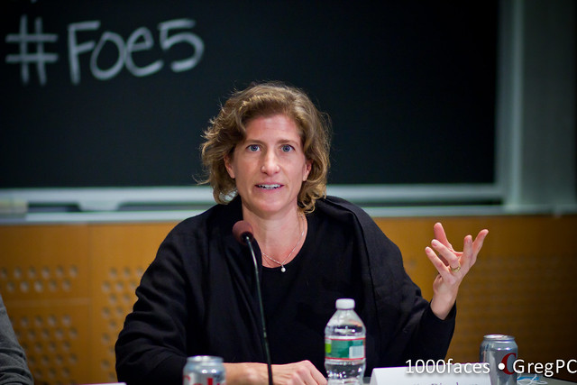 Face - Molly Bingham (@4GJournalist) speaking at #FoE5