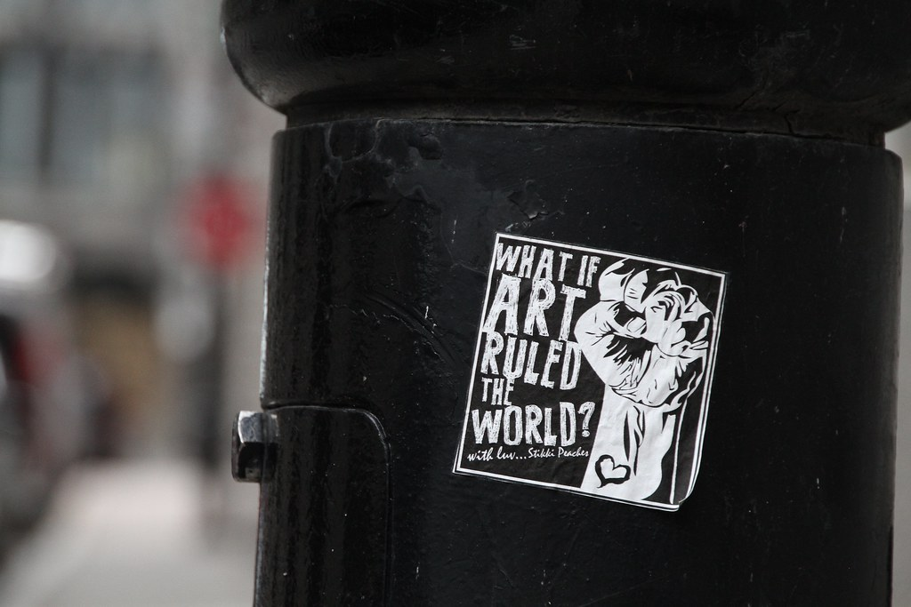 What if art ruled the world?