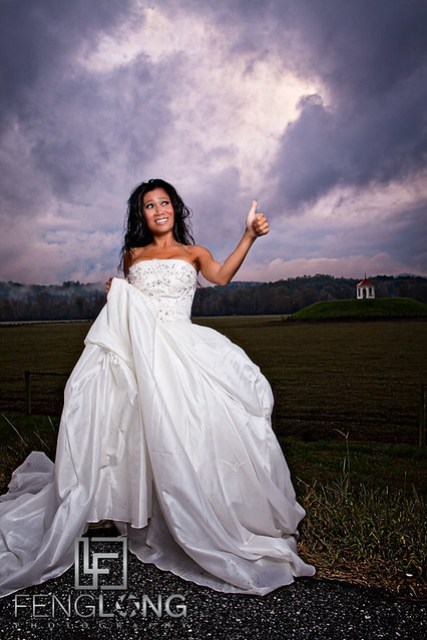 Stranded Bride | Khammy's Bridal Portrait Session | Anna Ruby Falls | Helen, GA Wedding Photographer