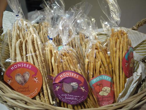 Bread Sticks at Monsee's