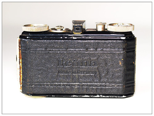 Kodak Retina type 117 - folded back