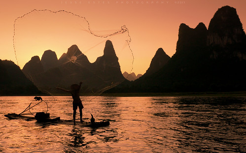 Guilin fisherman - China