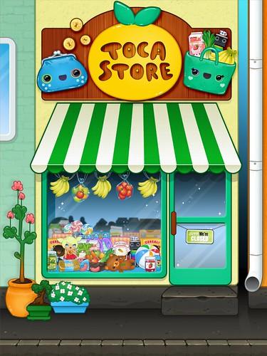 Toca Store title screen (Toca Boca)