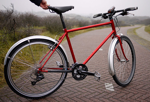Our classic steel touring bike.
