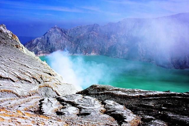 Lago Kawah Ijen, Indonesia