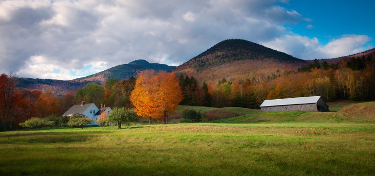 'New Hampshire's Treasure', United States, New Hampshire, White Mountains, Mt. Wonalancet, Farm