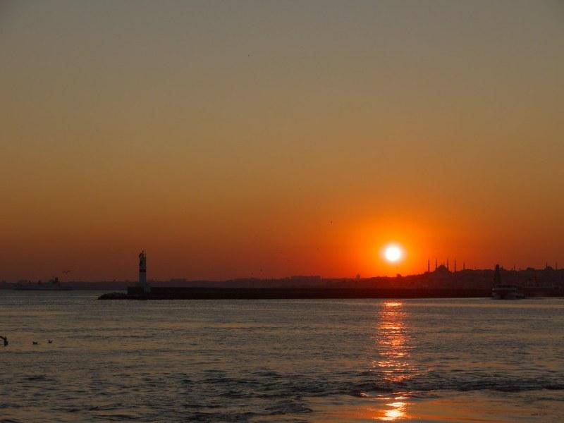Kadıköy sunset
