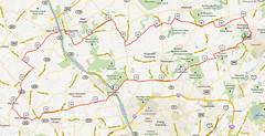 p-22. Bike Route Map. Princeton Community Park North Park