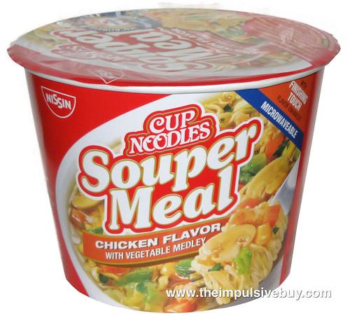 Nissin Cup Noodles Souper Meal Chicken Flavor