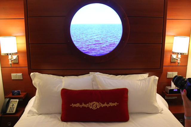 Interior Stateroom with Magical Porthole - Disney Fantasy