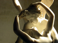 Detail, Canova's Psyche and Cupid, 1787-93, photographer unknown