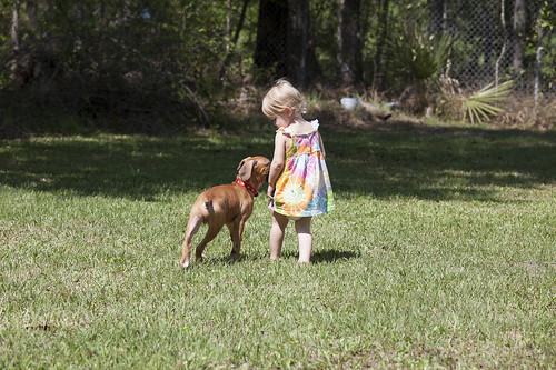Kids and dogs, Kids and Dog 3-18-12-2633