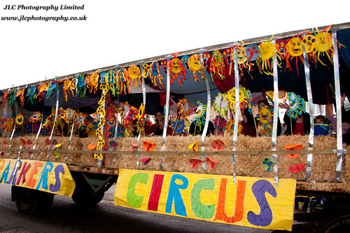 Parkers Circus float. (c) JLC Photography Ltd.