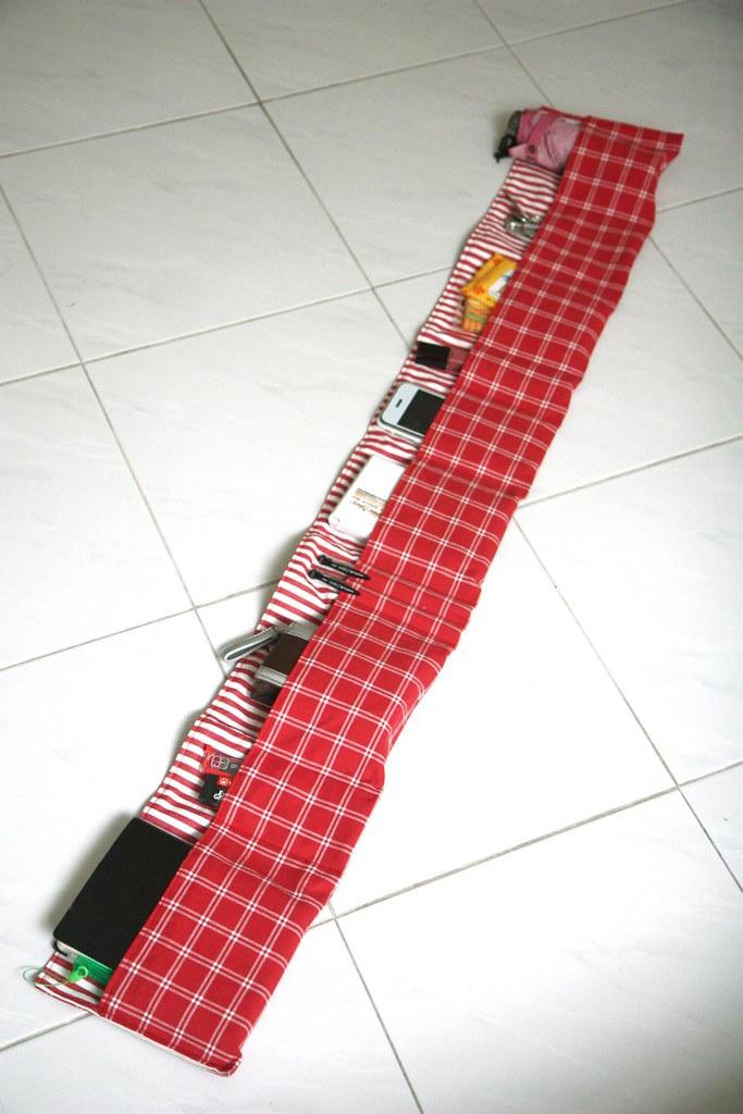 super-long purse organizer