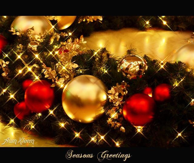 Seasons Greetings my Friends
