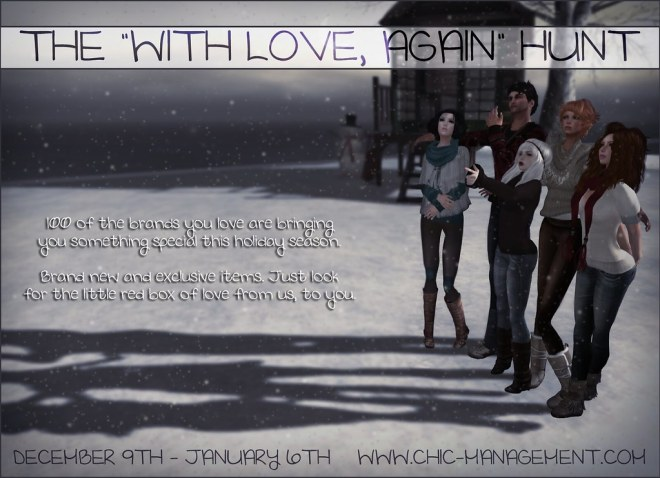 The With Love, Again Hunt.