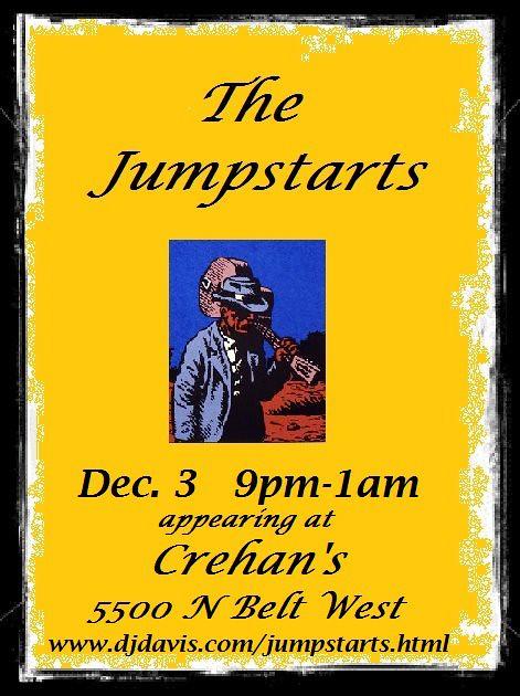 Jumpstarts 12-3-11