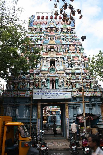 Puducherry, gopuram