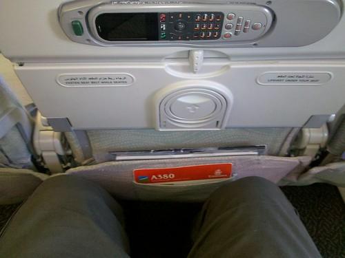 Coach on A380