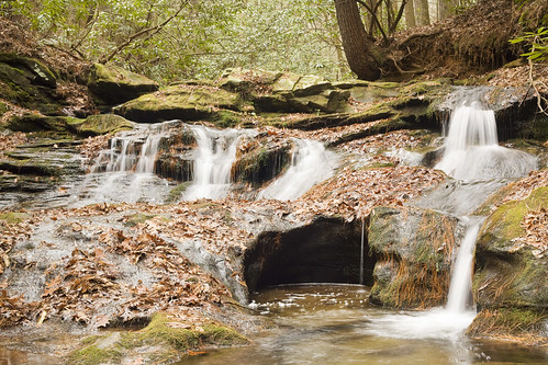 Martins Creek Cascade, Rabun County, Georgia