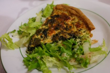 dinner at La Maison des Tartes