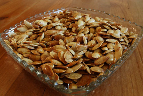 Happy Thing: Roasted Pumpkin Seeds