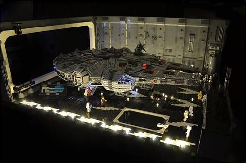 LEGO Star Wars Death Star diorama