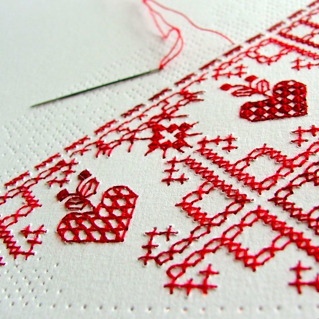 perforated love letter WIP