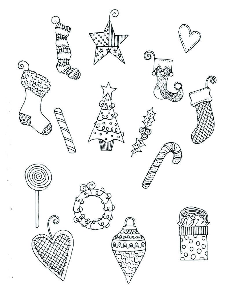 ChristmasBlack&WhiteGraphics