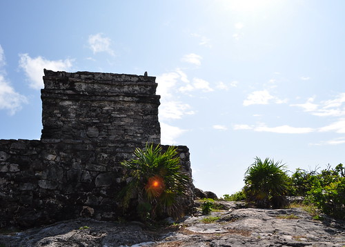 Tulum ruins - coast-6
