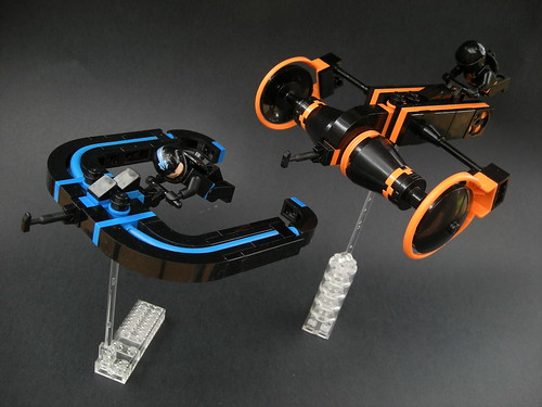 TRON: Legacy Cave Racers