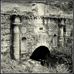 Thames & Severn Canal, Coates, Gloucestershire. Sapperton Tunnel (1)