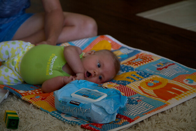 Ooohhh...Baby Wipes