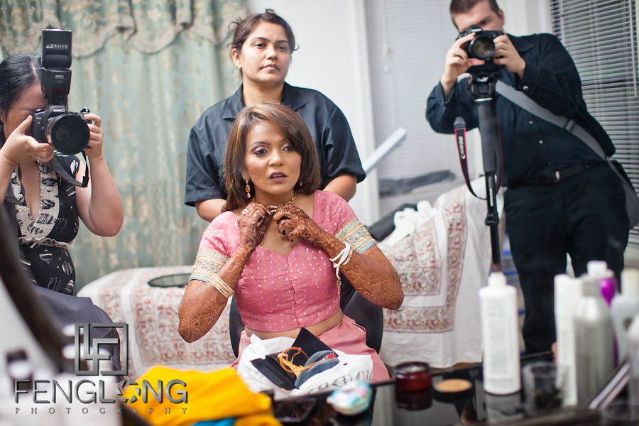 Behind the Scenes - Zac & Betty at Shamz & Sana's Indian Wedding