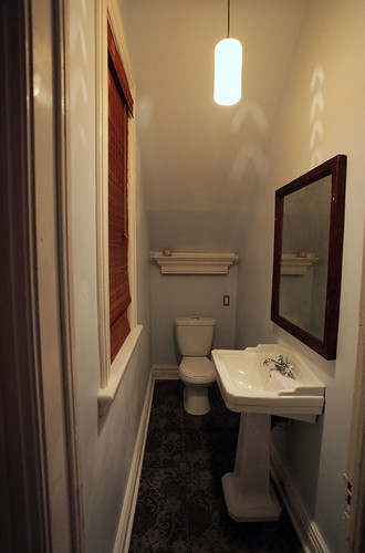finished downstairs bathroom