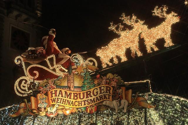 Hamburg Weihnachtsmarkt Rathausmarkt
