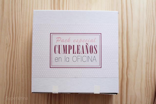 Pack especial cumpleaños en la oficina